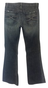 Lux Boot Cut Jeans-Dark Rinse