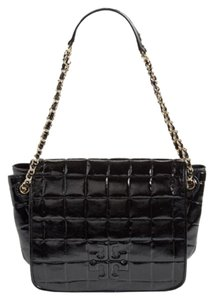 Tory Burch Quilted Patent Tote