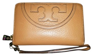 Tory Burch Reserved For Amy Wristlet in Tan