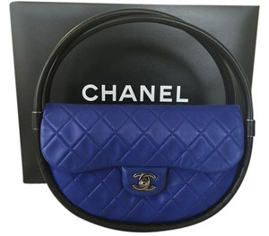 Chanel Hula Hoop Satchel in Royal Blue