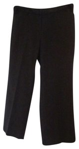 Jones New York Ny Modern Fit Below Waist Full Leg Plus-size 18 Trouser Pants Black