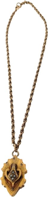 Item - Gold/Grey Personalized Necklace