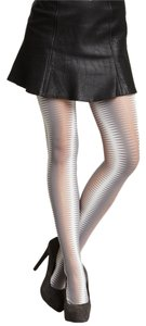 French Curve Missoni-style Zig Zag Tights - S/M