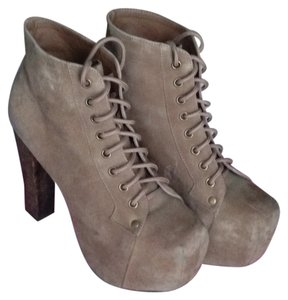 Jeffrey Campbell Tan Suede Boots