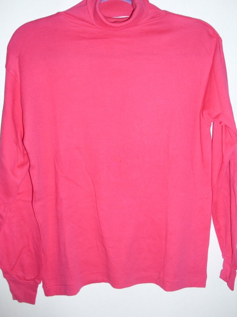 Other Turtleneck Cotton Bright Polo Pullover Tunic