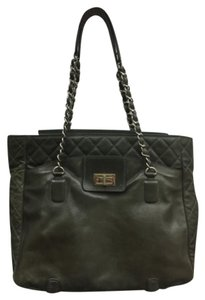 Chanel Tote in Olive Green
