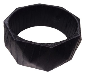 Black Satin Bangle
