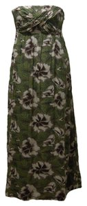 Multi Maxi Dress by Edme & Esyllte Strapless Smock Floral