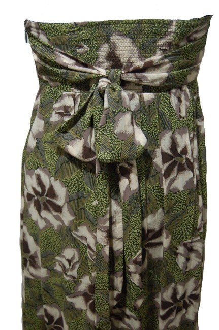 Multi Maxi Dress by Edme & Esyllte Maxi Strapless Smock Floral