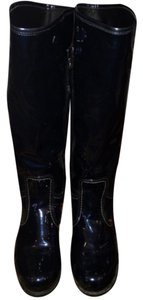 Geox Navy metallic Boots