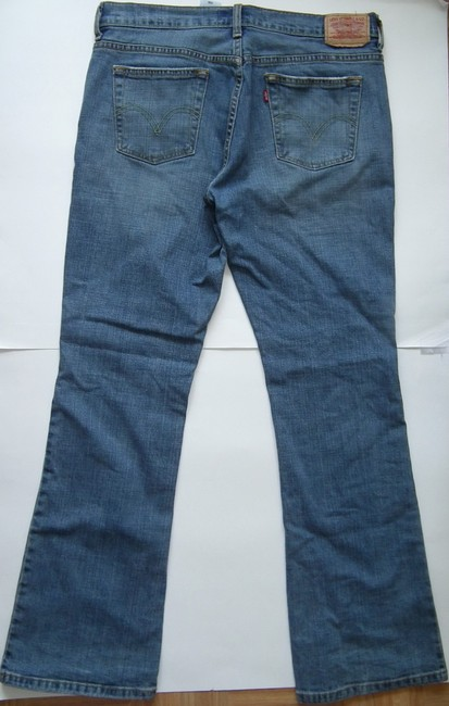 Levi's Denim Boot Cut Jeans