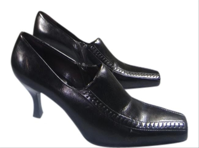 Franco Sarto Brown Evening with Hand Sewer Details In Front and Ziper Pumps Size US 7.5 Regular (M, B) Franco Sarto Brown Evening with Hand Sewer Details In Front and Ziper Pumps Size US 7.5 Regular (M, B) Image 1
