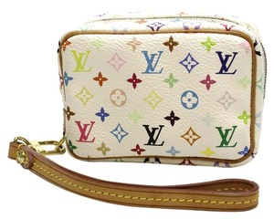 Louis Vuitton Louis Vuitton Truth Wapity Monogram Multicolore Cosmetic Pochette Pouch w/ strap
