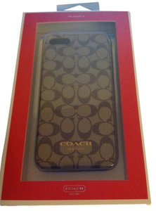 Coach New coach monogram iPhone 5 case