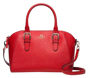 Kate Spade Cross Body Structured Leather Shoulder Bag