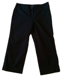Ann Taylor Crop Pants 2p Capris Black