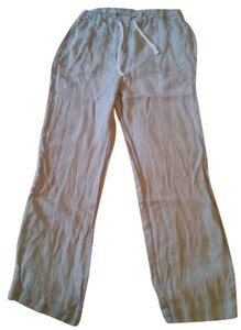 Ann Taylor Linen Relaxed Loose Beach Pants