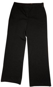 New York & Company & Co Size Medium Stretch Straight Leg Low Rise P1903 Trouser Pants black