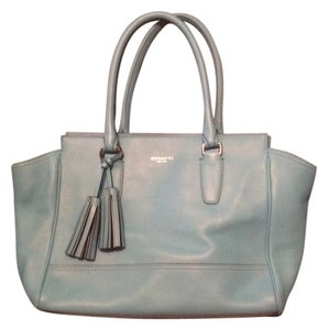 Coach Tote in Robin Blue/Turquoise