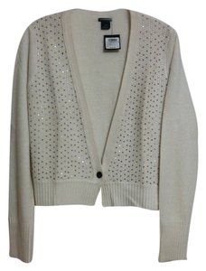 Club Monaco Longsleeve Sequin V-neck Cardigan