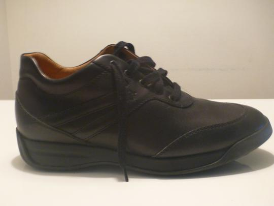 Tod's Leather Men Fashion Sneakers Black Boots