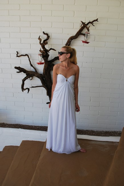 Laundry by Shelli Segal Wedding Summer Gown Sweetheart Prom Dress