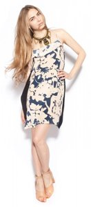 3.1 Phillip Lim Kite Silk Floral Panel Ruffle Dress