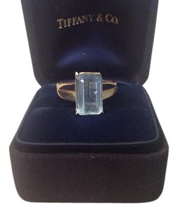 VINTAGE 14K AQUAMARINE RING