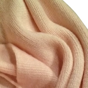 New York & Company Soft Pink Winter Scarf with Fringe New York & Company Rose Quartz