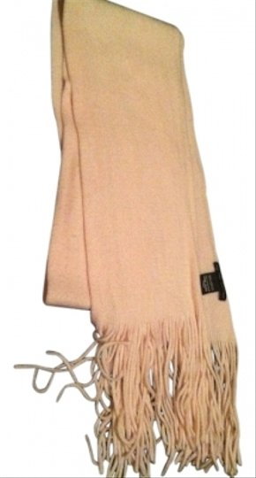 New York & Company Soft Pink Winter Scarf with Fringe New York & Company Rose Quartz Image 1