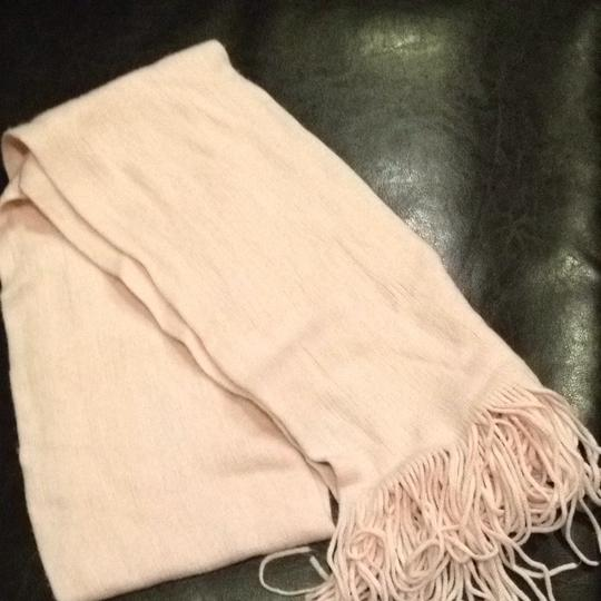 New York & Company Soft Pink Winter Scarf with Fringe New York & Company Rose Quartz Image 2