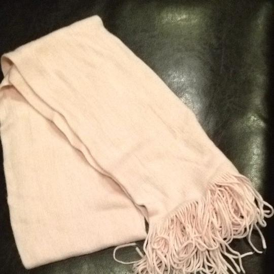 New York & Company Soft Pink Winter Scarf with Fringe New York & Company Rose Quartz Image 3