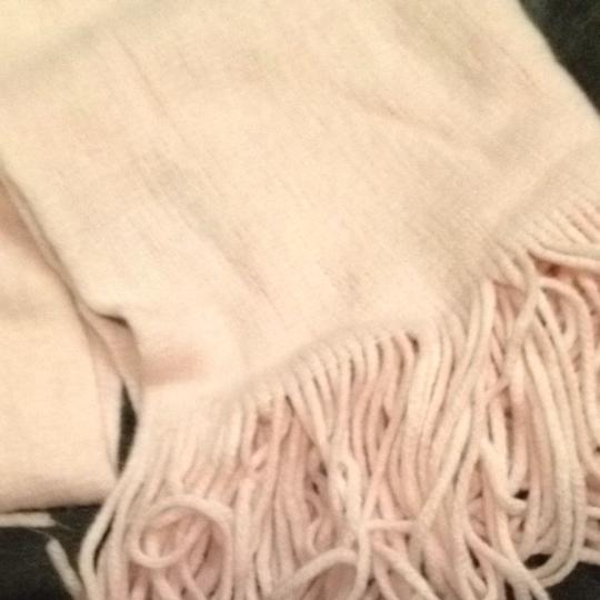 New York & Company Soft Pink Winter Scarf with Fringe New York & Company Rose Quartz Image 4