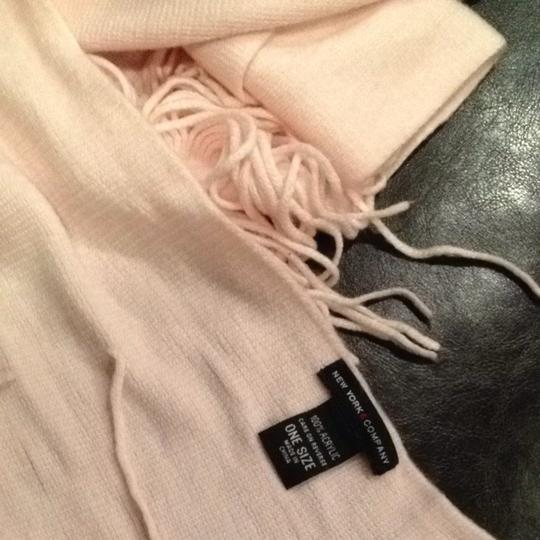 New York & Company Soft Pink Winter Scarf with Fringe New York & Company Rose Quartz Image 5