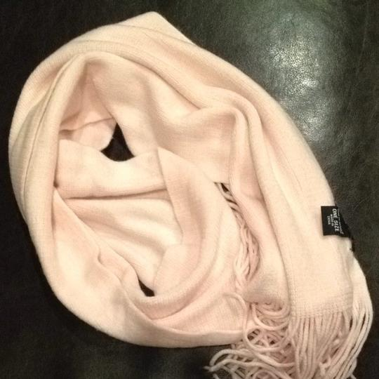 New York & Company Soft Pink Winter Scarf with Fringe New York & Company Rose Quartz Image 6