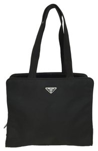 Prada Tessuto Nylon Portfolio Shoulder Bag
