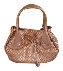 Gianfranco Ferre Inside Of Handbag Has One Zippered Pocket And Other Side Two Open Pockets Hobo Bag