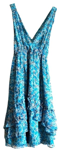 Preload https://img-static.tradesy.com/item/954372/mm-couture-floral-blue-brown-and-teal-short-casual-dress-size-2-xs-0-0-650-650.jpg