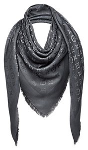 Louis Vuitton Louis Vuitton Monogram Shawl M74752 ANTRACITE Dark Gray