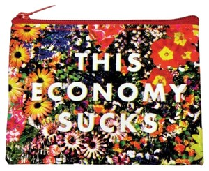 Blue Q This Economy Sucks Coin Purse
