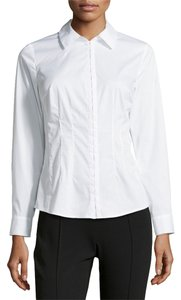 Laundry by Shelli Segal Longsleeve Button Down Shirt Optic White