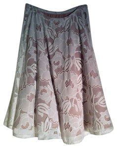 Guess By Marciano Skirt Tan with lace