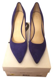 Nine West Blue Suede electric blue Pumps