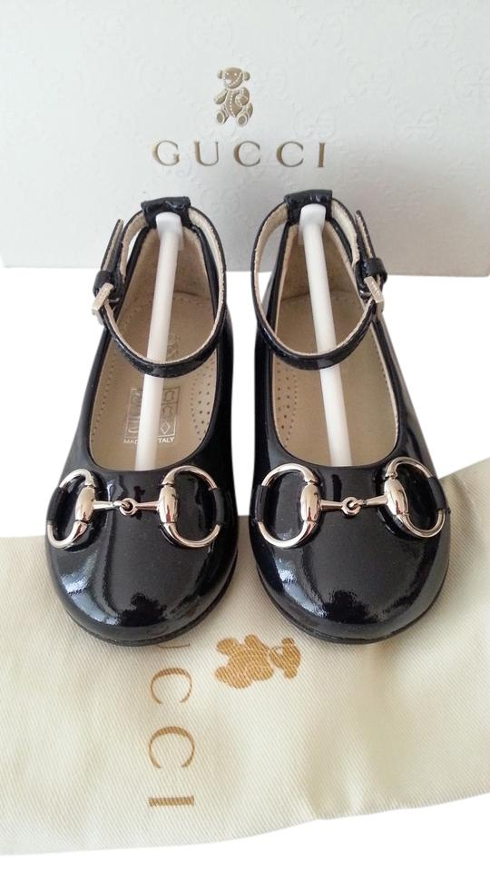 c62c9b4635ca Gucci Girl Size Euro 20 Us 4.5 baby   Toddler Girl s Charlotte Patent  Leather Ballet Flats ...
