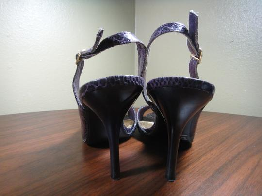 Delicious Purple/Black Sandals