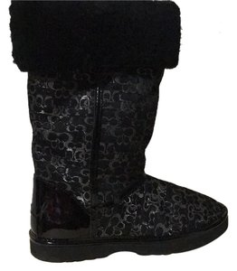 Coach Black and grey Boots