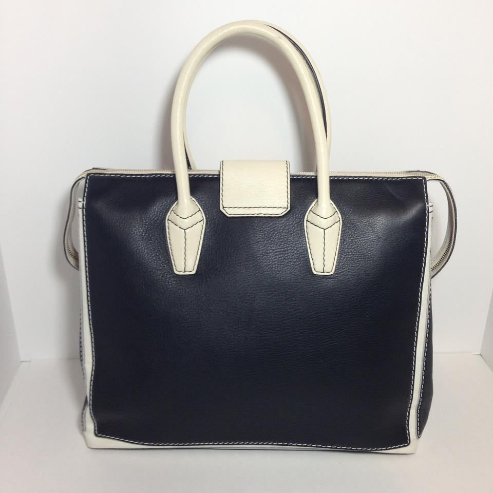 99a27a7940cd7 Saint Laurent Muse Two Ysl Cabas Tote Black and White Leather + Canvas  Satchel - Tradesy