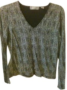 Liz Claiborne Top Black & White