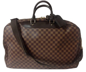 Louis Vuitton Travelling Poches 2 Alize 2 Bando Alma Neverfull Speedy Brown Travel Bag