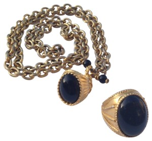 Other Vintage Bold Necklace Ring Set